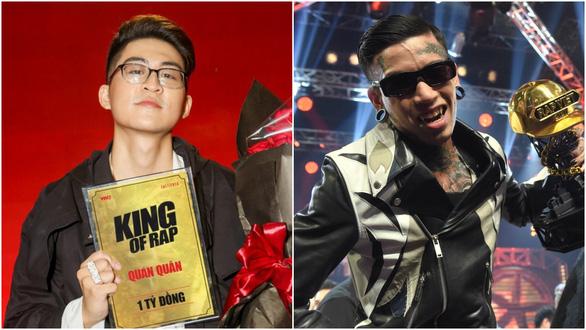 2 quán quân mới của Rap Việt và King of Rap gây tranh cãi - Ảnh 1.