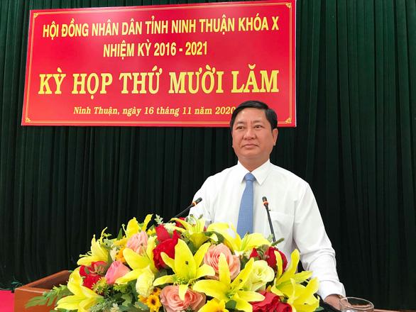 Ông Trần Quốc Nam giữ chức chủ tịch UBND tỉnh Ninh Thuận - Ảnh 1.