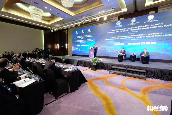 Hội thảo quốc tế lớn về Biển Đông khai màn tại Hà Nội - Ảnh 1.