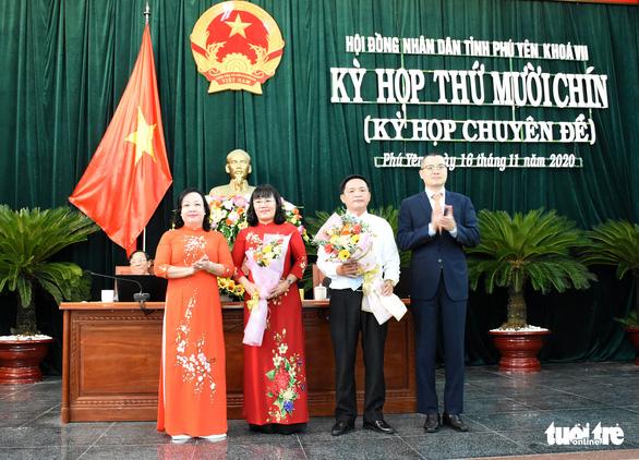 Phú Yên bầu bổ sung chủ tịch HĐND, chủ tịch và 2 phó chủ tịch UBND tỉnh - Ảnh 4.