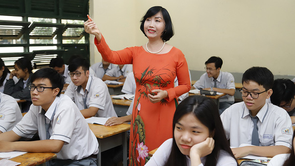 Yêu nghề dạy học - Kỳ 1: Ba thế hệ cùng làm nhà giáo - Ảnh 2.