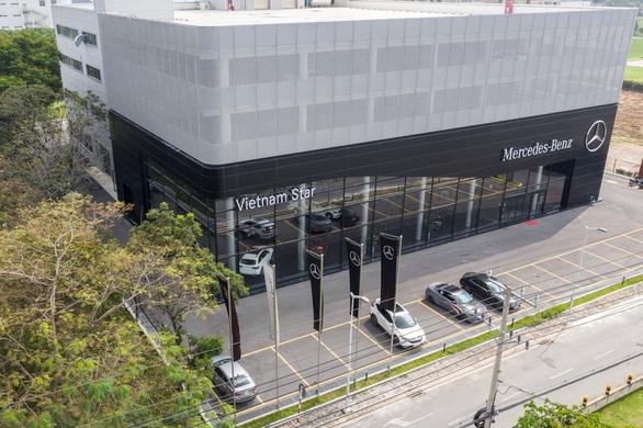 Mercedes-Benz Vietnam Star triển khai dịch vụ 'sơn nhanh trong ngày' - Ảnh 2.
