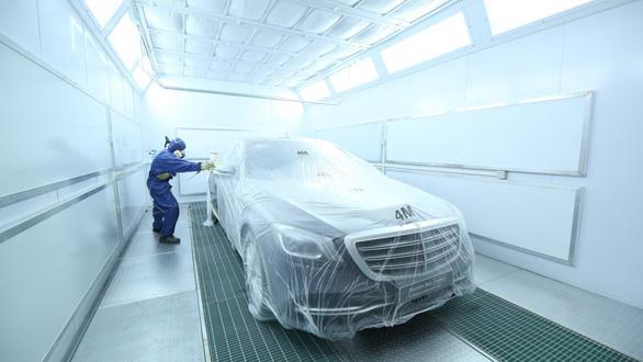 Mercedes-Benz Vietnam Star triển khai dịch vụ 'sơn nhanh trong ngày' - Ảnh 3.