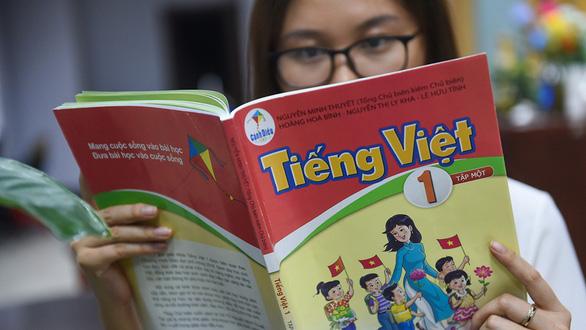 Chỉnh sửa SGK Tiếng Việt 1 bộ Cánh Diều: Làm cho có, đối phó dư luận? - Ảnh 1.