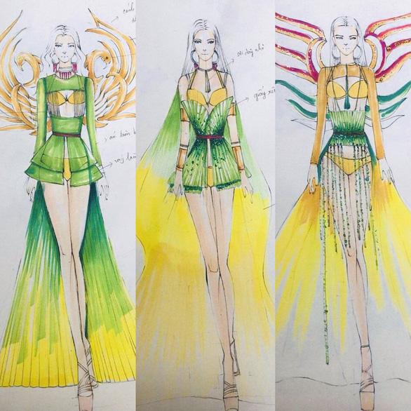Hoa khôi Du lịch sẽ thi trang phục thiết kế từ nguyên liệu tái chế kết hợp bikini - Ảnh 2.