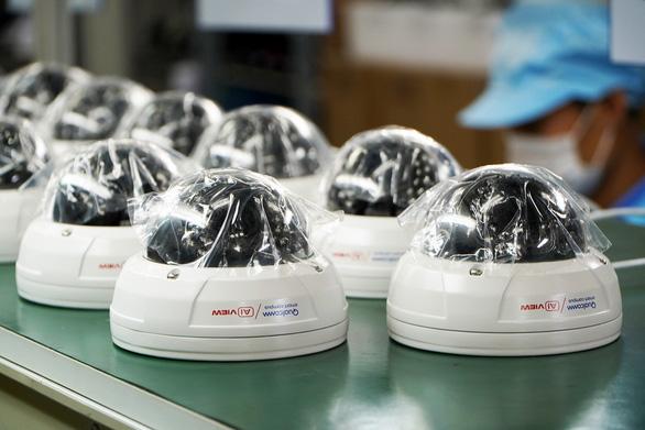 Camera an ninh ứng dụng AI của VN lắp đặt tại trụ sở chính của Qualcomm ở Mỹ - Ảnh 1.