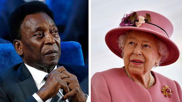 Đài Pháp xin lỗi khi bỗng dưng đăng cáo phó của Nữ hoàng Anh và vua bóng đá Pele - Ảnh 1.
