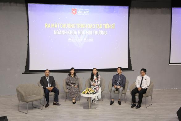 ĐH Văn Lang tuyển sinh tiến sĩ khoa học môi trường khóa đầu tiên với cơ chế hỗ trợ ấn tượng - Ảnh 2.