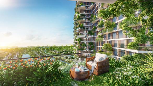 Tòa tháp xanh tại Ecopark lên báo Singapore - Ảnh 4.