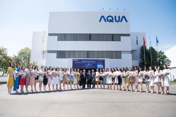 AQUA Việt Nam chào mừng thí sinh HHVN 2020  tham quan nhà máy tại Đồng Nai - Ảnh 3.