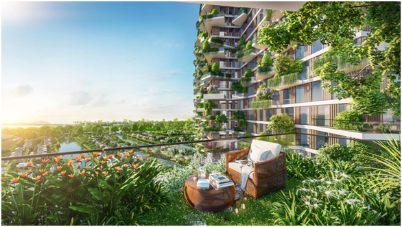 Hàng loạt báo quốc tế viết về toà tháp xanh Ecopark - Ảnh 3.
