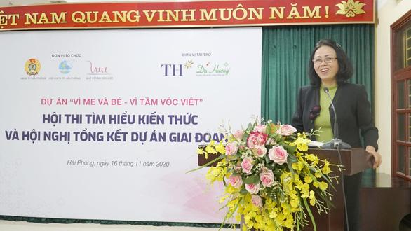 Hơn 13.000 lượt người lao động hưởng lợi từ dự án Vì mẹ và bé - Vì tầm vóc Việt - Ảnh 5.