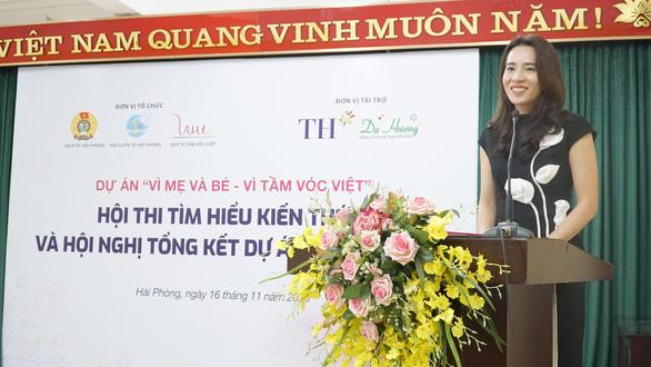 Hơn 13.000 lượt người lao động hưởng lợi từ dự án Vì mẹ và bé - Vì tầm vóc Việt - Ảnh 3.