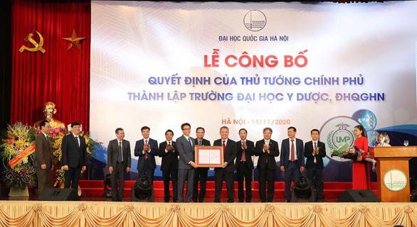 Trường ĐH Y Dược - ĐH Quốc gia Hà Nội phát triển theo hướng nghiên cứu - Ảnh 1.