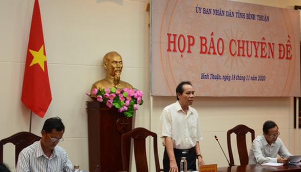 Bình Thuận thông tin về một số dự án lùm xùm chuyện đấu giá - Ảnh 1.