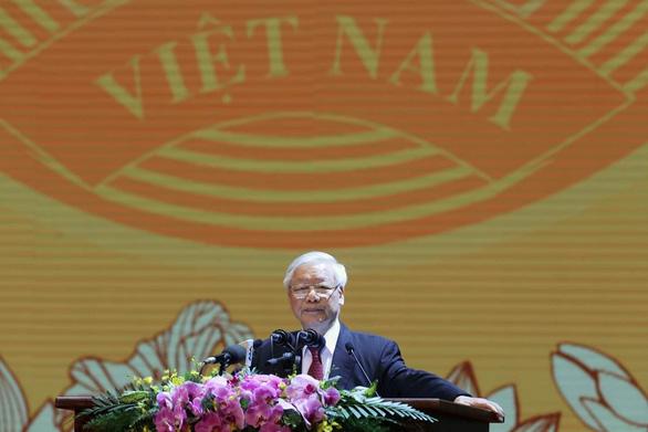 Tổng bí thư, Chủ tịch nước: Đoàn kết làm nên sức mạnh vô địch của dân tộc ta - Ảnh 1.
