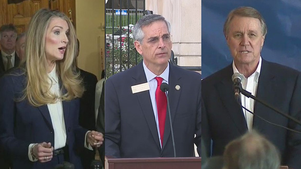 4 hạt sót 6.000 phiếu bầu, lãnh đạo bầu cử bang Georgia bị kêu từ chức - Ảnh 1.