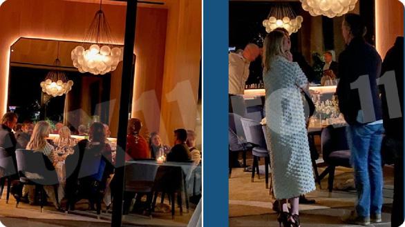 Bữa tối đông người giữa đại dịch của thống đốc bang California - Ảnh 1.