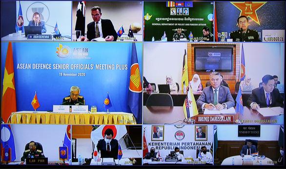 Sáng kiến quốc phòng của Việt Nam được 17 nước ASEAN+ đánh giá cao - Ảnh 1.