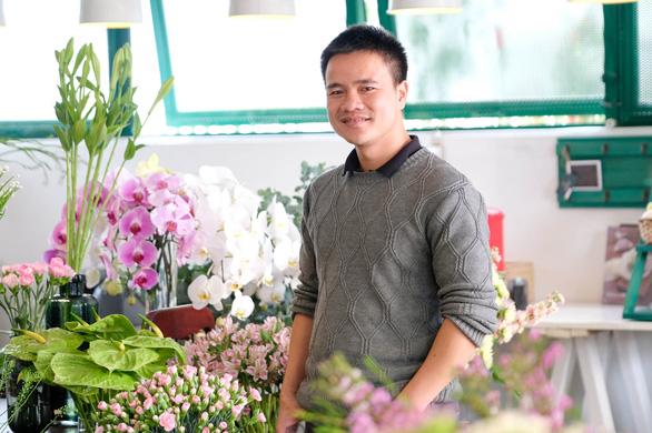 Khởi nghiệp với hoa Đà Lạt - Ảnh 1.