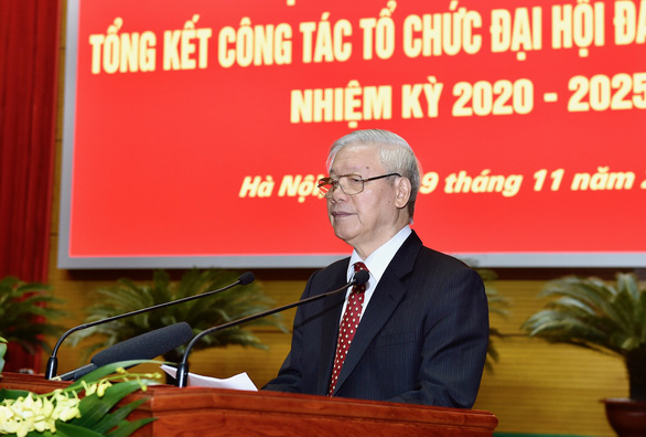 Tiền đề rất quan trọng góp phần vào thành công Đại hội XIII của Đảng - Ảnh 1.