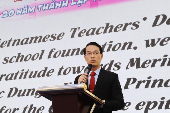 Hiệu trưởng trường Trần Đại Nghĩa: giáo viên nên cởi mở, thấu hiểu, công bằng với học sinh - Ảnh 1.
