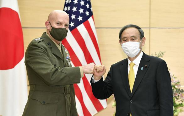 Thăm Nhật, tướng Mỹ kêu gọi bắt tay đối phó Trung Quốc - Ảnh 1.