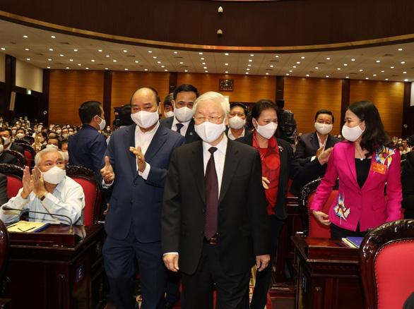 Khai mạc hội nghị cán bộ toàn quốc tổng kết công tác tổ chức Đại hội Đảng bộ các cấp - Ảnh 1.