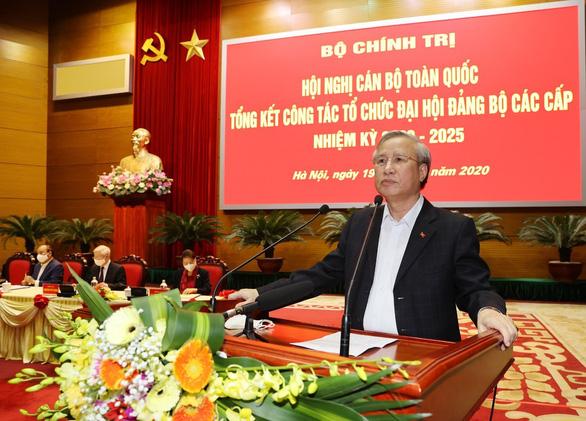 Khai mạc hội nghị cán bộ toàn quốc tổng kết công tác tổ chức Đại hội Đảng bộ các cấp - Ảnh 5.