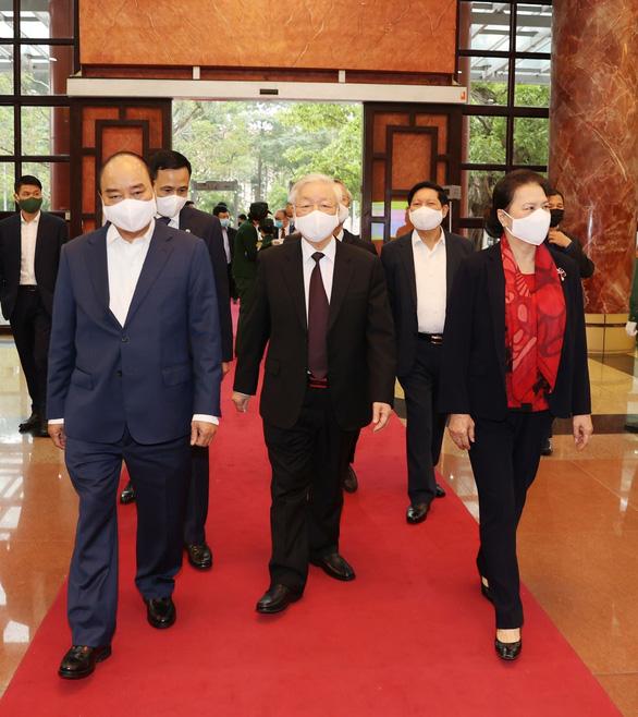 Khai mạc hội nghị cán bộ toàn quốc tổng kết công tác tổ chức Đại hội Đảng bộ các cấp - Ảnh 4.