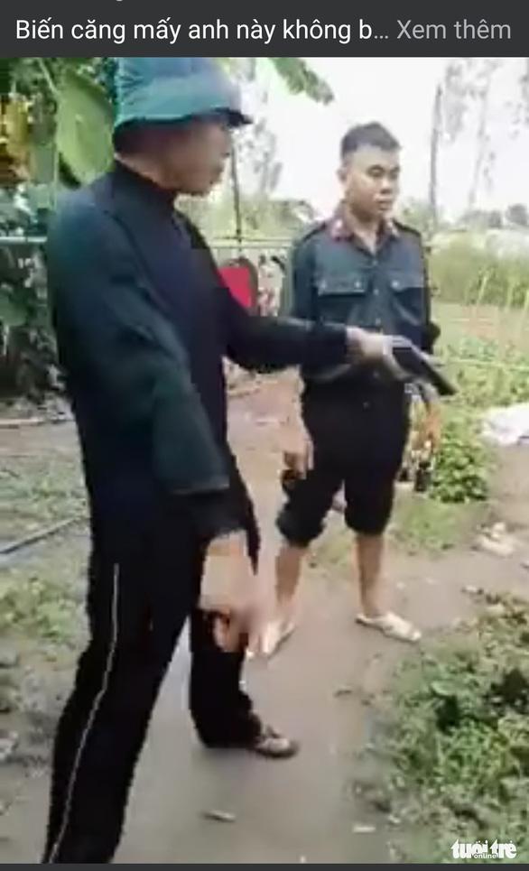 Xôn xao việc công an bắt buôn lậu, một phụ nữ bị bắn vào tay - Ảnh 1.
