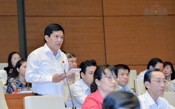 Ông Phạm Phú Quốc không có mặt khi Quốc hội làm quy trình bãi nhiệm - Ảnh 1.