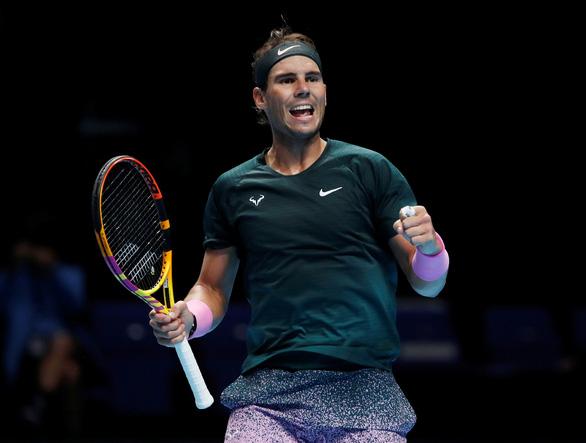 Điểm tin thể thao sáng 20-11: Nadal vào bán kết ATP Finals, Ramos vắng mặt trận Inter Milan - Ảnh 1.