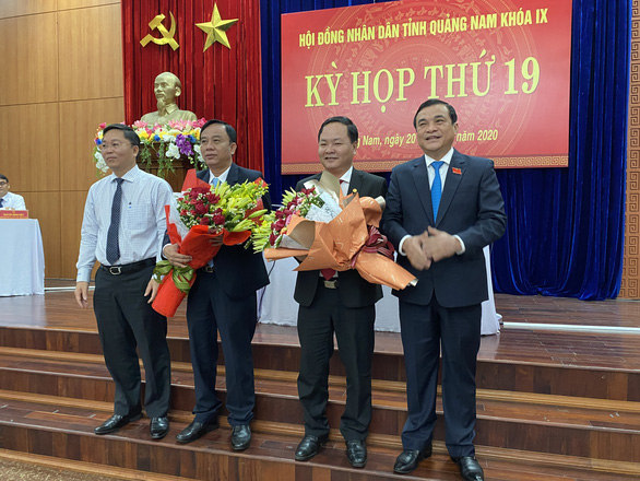 Quảng Nam có tân phó chủ tịch HĐND và UBND tỉnh - Ảnh 1.