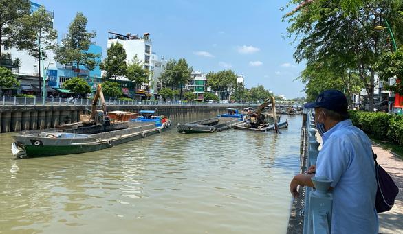 TP.HCM đã hoàn thành nạo vét, khơi thông kênh Nhiêu Lộc - Thị Nghè - Ảnh 1.