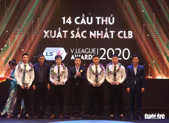 Văn Quyết đoạt danh hiệu Cầu thủ xuất sắc nhất mùa giải 2020 - Ảnh 3.
