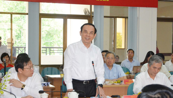 Bí thư Nguyễn Văn Nên: Đầu tư cho Củ Chi là đầu tư cho phát triển TP - Ảnh 1.