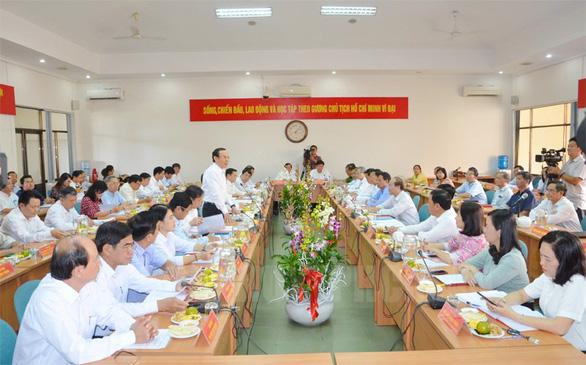 Bí thư Nguyễn Văn Nên: Đầu tư cho Củ Chi là đầu tư cho phát triển TP - Ảnh 2.
