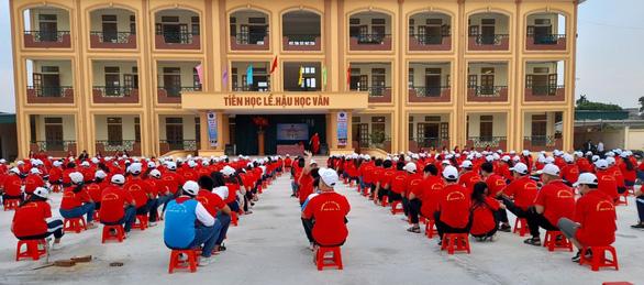PV GAS tài trợ xây dựng Trường THCS Đông Á, Thái Bình - Ảnh 5.