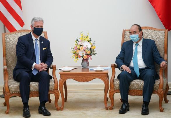 Thủ tướng Nguyễn Xuân Phúc tiếp Cố vấn an ninh quốc gia Mỹ OBrien - Ảnh 2.