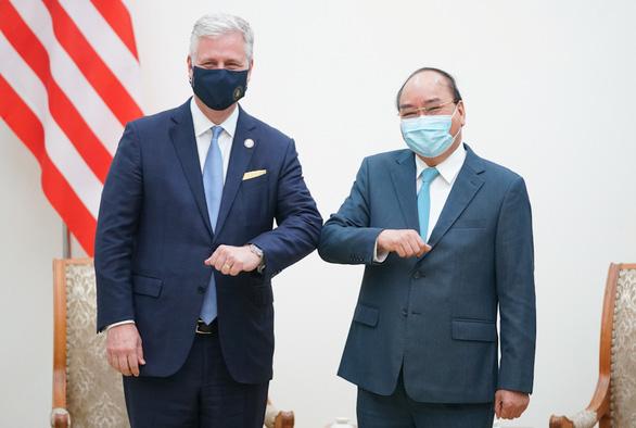 Thủ tướng Nguyễn Xuân Phúc tiếp Cố vấn an ninh quốc gia Mỹ OBrien - Ảnh 1.