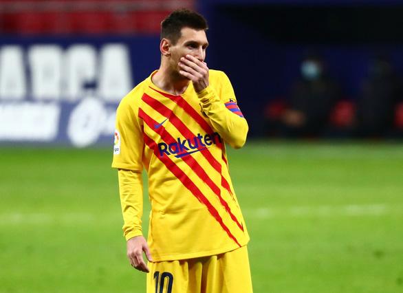 Messi tắt tiếng khiến Barca bại trận và rớt xuống vị trí thứ 10 - Ảnh 1.