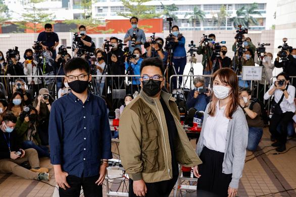 Hoàng Chi Phong, Chu Đình, Lâm Lãng Ngạn nhận tội liên quan biểu tình ở Hong Kong - Ảnh 1.