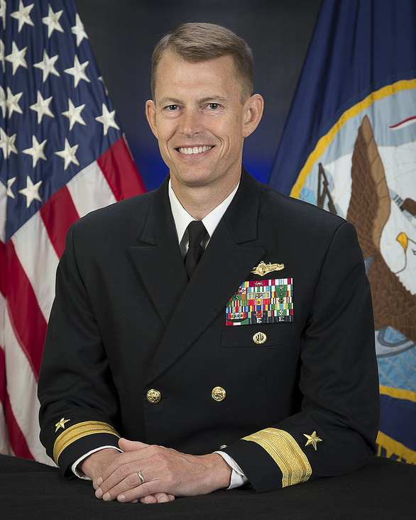 Một chuẩn đô đốc Hải quân Mỹ im lặng đến Đài Loan - Ảnh 1.