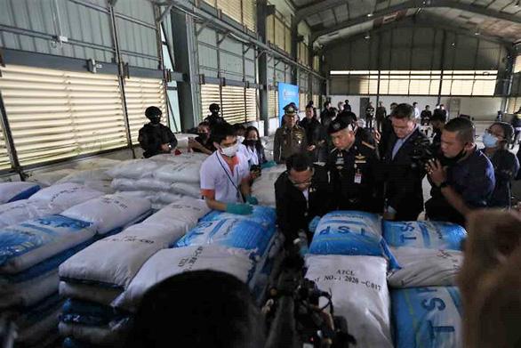 Thái Lan hớ nặng vụ b.ắt m.a t.úy tỉ đô, vì chỉ là phụ gia thực phẩm - Ảnh 1.