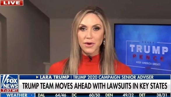 Con dâu ông Trump nói lý do tiếp tục thách thức kết quả bầu cử - Ảnh 1.