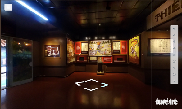 Trưng bày mộc bản triều Nguyễn bằng công nghệ 360 VR - Ảnh 3.
