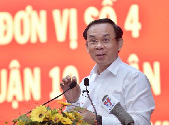 Bí thư Nguyễn Văn Nên: Tôi có quan điểm sống để cống hiến, ở đâu cũng hết mình - Ảnh 1.