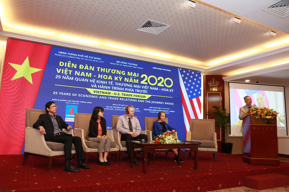 Diễn đàn thương mại Việt Nam - Hoa Kỳ năm 2020 - Ảnh 1.