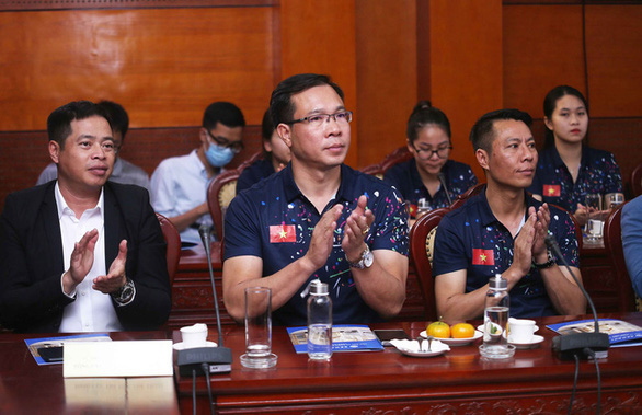 Xạ thủ Hoàng Xuân Vinh không tham dự SEA Games 31 - Ảnh 1.